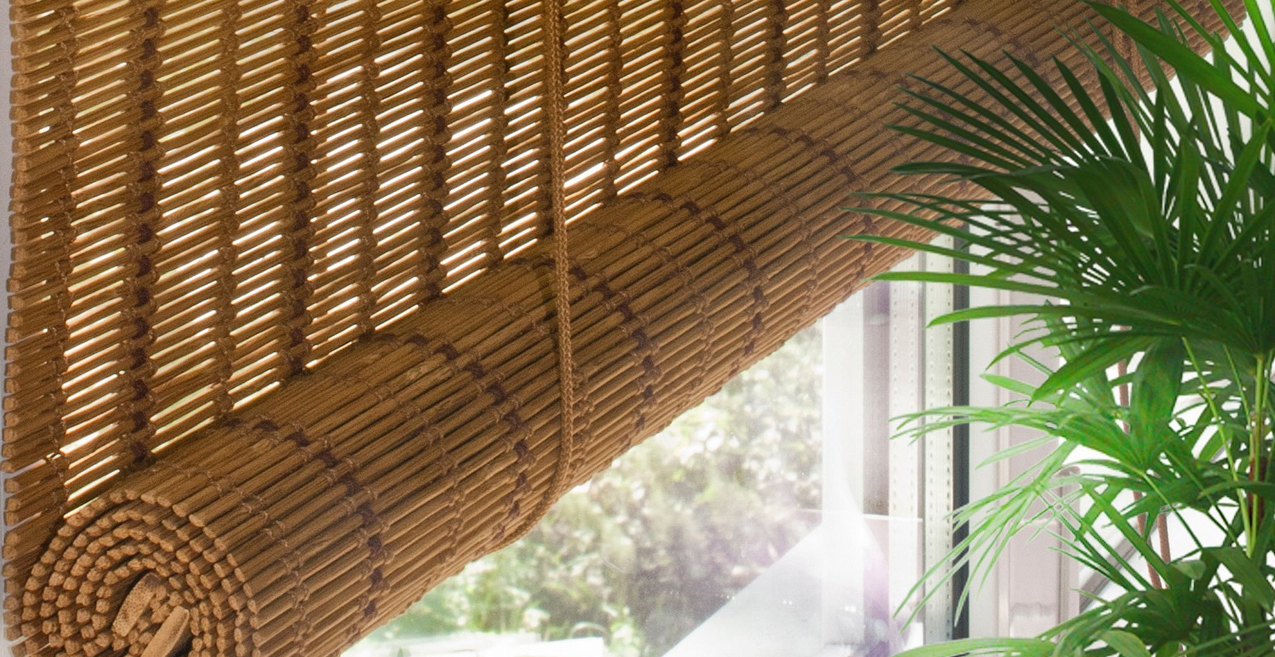 Купить рулонные бамбуковые жалюзи